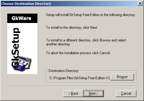 GkSetup v2.39 Screenshot